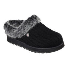Skechers Women's   BOBS Keepsakes Ice Storm Clog Slipper