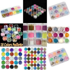Crushed Shell Practical Glitter Nail Art Butterfly Decoration Powder Kits