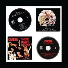 12 inch Vinyl Record Frame for 2x records and 2x Sleeves Music Memorabilia Frame
