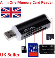 USB All In One Memory Metal Card Reader MMC T-Flash Micro-SD Micro-SDHC Card FK