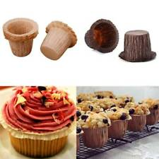 30Pcs Mini Solid Paper Baking Cups Cupcake Liners Muffin Cupcake Paper Cases New