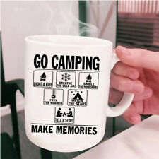 Watch The Stars Coffee Mug, Go Camping Make Memories Cup