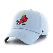 St. Louis Cardinals 47 Brand MLB Cooperstown Franchise Fitted Cap Curved Dad Hat
