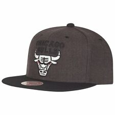 Mitchell & Ness Snapback NBA Cap - G3 Chicago Bulls charcoal