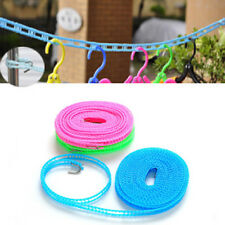 3M/5M Nylon Washing Clothesline Portable Travel Camping Clothes Line Dryer Rope