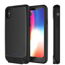 Battery Waterproof Rechargeable Backup Power Bank Battery Case Cover iPhone X/8