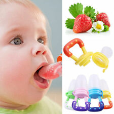 Baby Feeding Dummy Weaning Pacifier Fruits Feeder Food Soother Teat Soft