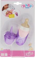 Zapf Creation Baby Born Doll Bottle with Cap - Choose from 3