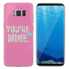Case Cover For Samsung Galaxy S6 S7 Edge S8 S9 Plus You Are Mine My Queen Bee