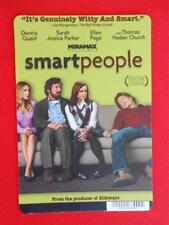 SMART PEOPLE ~ DVD Movie Backer Mini Poster Card ~ NOT a DVD