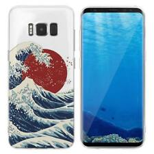 Case Cover For Samsung Galaxy S6 S7 Edge S8 S9 Plus Mount Fuji Japan Winter Snow