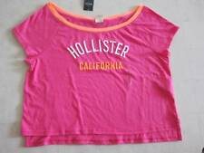 Hollister by Abercrombie Women  Easy Fit Shirt Cropped Off Shoulder XS/S/M/L-NWT