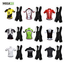 Mountain MTB Cycling Jersey Bib Shorts Skinsuit Bike Bicycle Breathable Riding