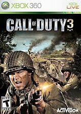 Call of Duty 3 (Microsoft Xbox 360, 2006) - Complete