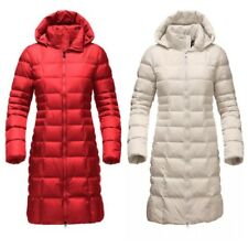 NWT The North Face Women's Metropolis Parka 2 Down Coat Red Sz S