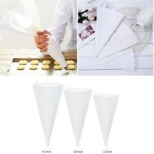 Reusable Cotton Canvas Icing Piping Pastry Bag Cake Cream Decorating Tool 3 Size
