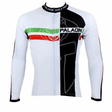 Men Sports Team Cycling Jersey Bicycle Long Sleeve Clothing Tops Wear I0062