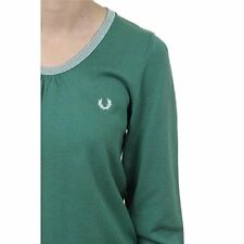 Fred Perry Womens Sweater 31412114 0032, Green
