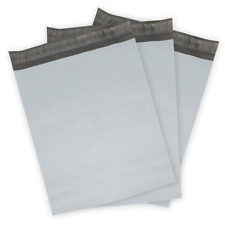 Poly Mailer Envelope Bags 1000 10x13  6x9 7.5x10.5 9x12  White Shipping Bag Grey