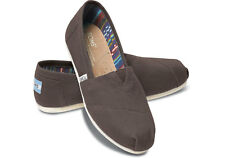 New Authentic TOMS Women Classic Canvas Slip Flats Shoes - US Size 9.5 or 10