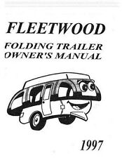 Coleman Fleetwood Popup camper Owners Manuals, Parts, Accessory Media Collection
