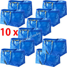 10x 4x NEW IKEA FRAKTA Bag Large 71L Shopping Tote Laundry Bag Reusable Blue