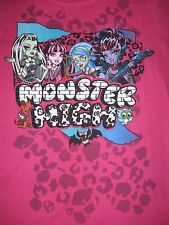 Monster High Ghoulia Jane Bolittle Frankie doll T-Shirt Size 6/6x 7/8, 14/16 NEW