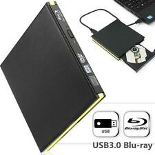 USB 3.0 External BD Blu Ray DVD CD RW Drive Writer Burner For MAC WINDOWS 10/8/7