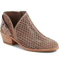 Current $139 Vince Camuto 'Phandra' Perforated Bootie, Urban Lux Suede, 8.5