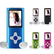 "8G Slim Digital MP4 MP3 Player 1.8"" LCD Screen FM Radio Video Movie Music Player"