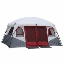 Outdoor Tent Waterproof For Family Cabin Camping-Tent Double Layer 8-12 Person