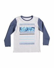 NEW QUIKSILVER™  Boys 2-7 Raw Lines 2 Long Sleeve T Shirt