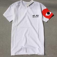 Men's Japan style round neck CDG Tee Shirt Play Comme Des Garcons Heart T-Shirt