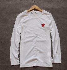 T-shirts Comme Des Garcons CDG Play Littel Red Heart Cotton Long Sleeve Tee S-XL