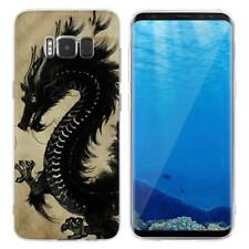 Case Cover For Samsung Galaxy S6 S7 Edge S8 S9 Plus Dinosaurs Reptiles Dragons