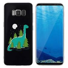 Case Cover For Samsung Galaxy S6 S7 Edge S8 S9 Plus Dragon Reptiles Dinosaurs