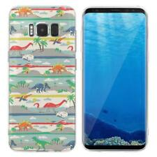 Case Cover For Samsung Galaxy S6 S7 Edge S8 S9 Plus Dinosaurs Reptiles Lizards