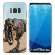 Case Cover For Samsung Galaxy S6 S7 Edge S8 S9 Plus Lizards Dinosaurs Reptiles
