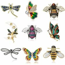 Fashion Insect Butterfly Dragonfly Animal Bee Brooch Pin Women Jewelry