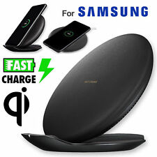 Fast Qi Wireless Charger Charging Pad Stand Dock for Samsung Galaxy Note 9/S8/S9