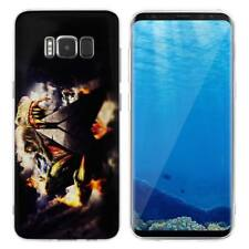 Case Cover For Samsung Galaxy S6 S7 Edge S8 S9 Plus Animals Dinosaurs Raptors