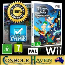 (Wii Game) Phineas And Ferb: Across The 2nd Dimension / Second (G) PAL