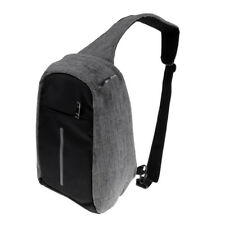 USB Charging Anti-Theft Backpack Unisex Travel Crossbody Sling Chest Bag
