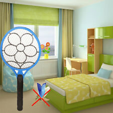Electronic Mosquito Pest Fly Swatter Racket Handheld Swat Killer Rechargeable
