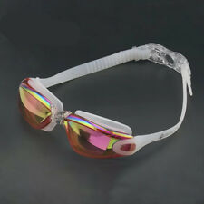 Swimming Goggles Leak Free UV Protection Anti Fog with Adjustable Shoulder Strap