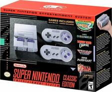 Nintendo SNES CLV S SNSG Classic Edition Mini Super Entertainment System New!