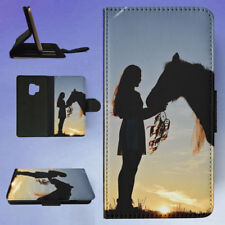 ADULT BACKLIT DREAM CATCHER GIRL FLIP CASE COVER FOR SAMSUNG GALAXY PHONE