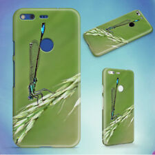 DAMSELFLY GRASS INSECT MACRO HARD BACK CASE FOR GOOGLE PIXEL PHONE