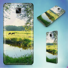 LANDSCAPE WATER MEADOW GREEN HARD BACK CASE FOR ONEPLUS PHONES