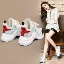 New Sandal Womens Joint Color Heels Sneakers Running Breathable Athletic Shoes